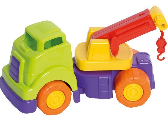Brinquedo Bebê Caminhão Guincho Articulável Mercotruck