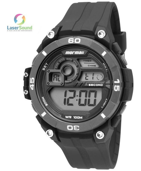 Relógio Mormaii Masculino Mo2019/8p, C/ Garantia E Nf