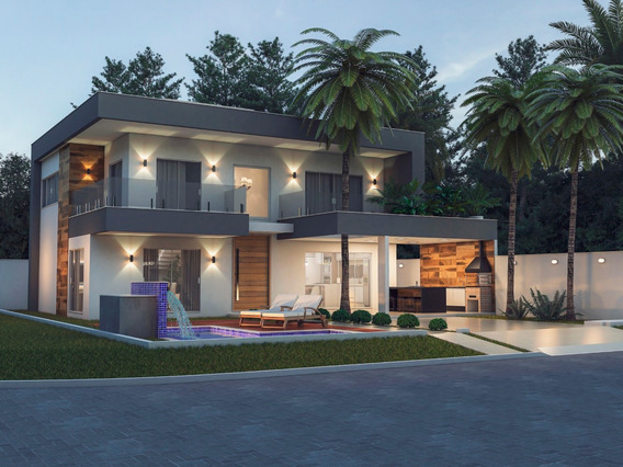Excelente Casa Com 3 Suites No Bothanica Nature