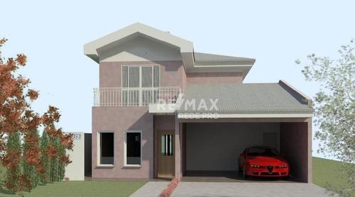 Casa Com 3 Dormitórios À Venda, 182 M² Por R$ 418.500,00 - Condomínio Raízes - Paulínia/sp - Ca7217