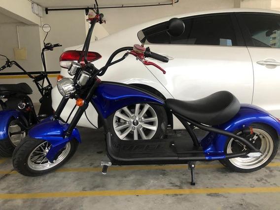 Scooter Elétrica - Modelo: Chopper Harley / Marca: Hover