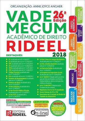 Vade Mecum Rideel 26 Ed. 2018