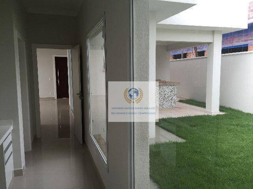 Casa Com 3 Dormitórios À Venda, 190 M² Por R$ 950.000,00 - Parque Brasil 500 - Paulínia/sp - Ca0207