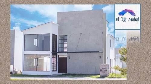 Preciosas Casas En Residencial Condado Del Valle Metepec En