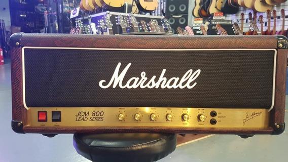 Outlet I Marshall Jcm800 Cabezal Burgundy Snake