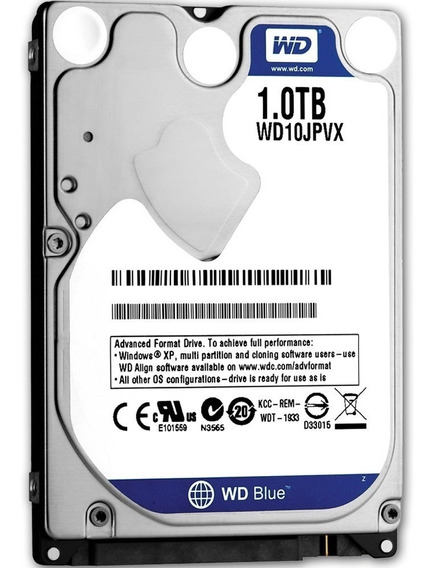 Disco Duro Interno Notebook 1tb Blue