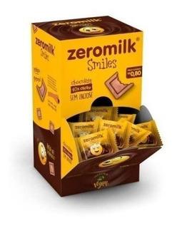 Chocolate Zeromilk 40% Cacau Smiles 05g Genevy
