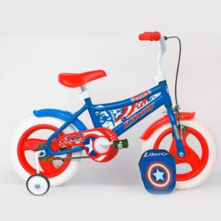 Bicicleta Liberty Capitan America Rodado 12