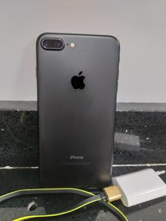 iPhone 7 Plus Preto 256gb Super Conservado