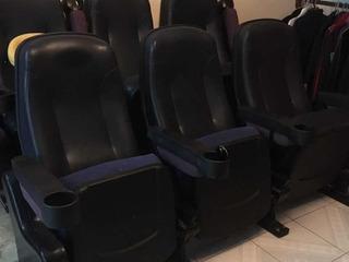 Sillón De Cine 3 Piezas X2 Unidades