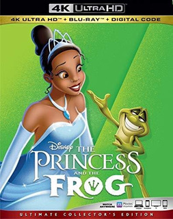 4k Blu-ray : Princess & The Frog (2 Discos)