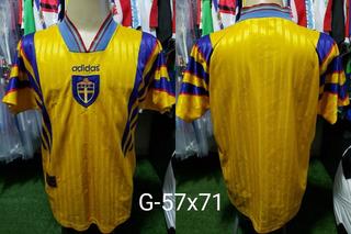 Camisa Suecia adidas Titular 1996