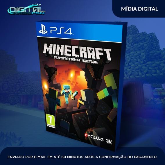 Minecraft Ps4 Edition Jogo Digital Envio Rapido Original
