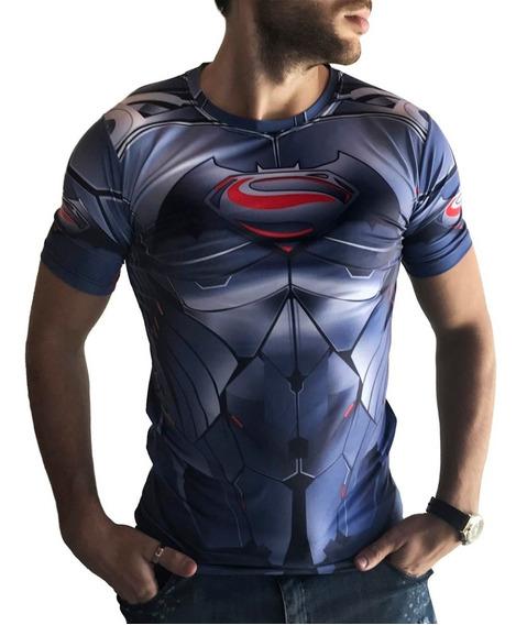 Remera Superman Slim Fit Ranwey As0016