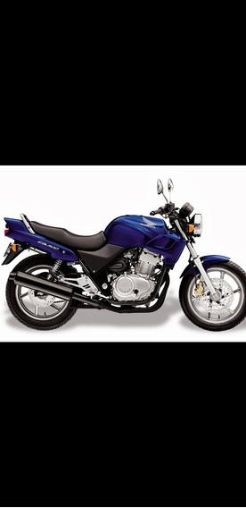 Honda Cb 500 Ano 98 Azul