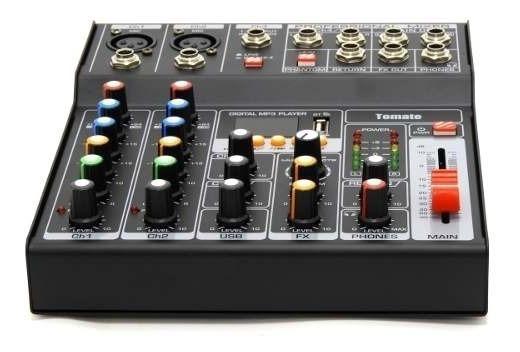 Mesa Som Mixer Áudio Usb 7 Canais Digital Microfone Violão!!