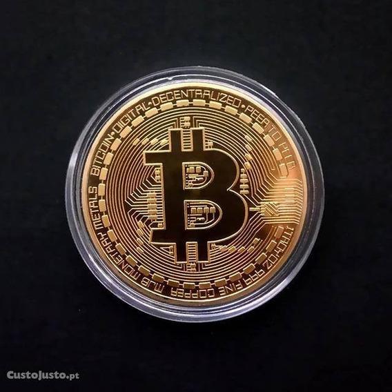 Moedas Colecionáveis Bitcoin (sem Valor Comercial)
