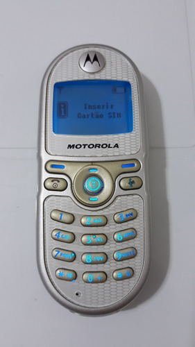 Celular Motorola C200  Sem Fonte Carregador