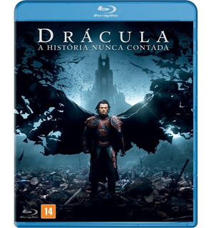 Drácula A História Nunca Contada - Blu-ray Original Lacrado