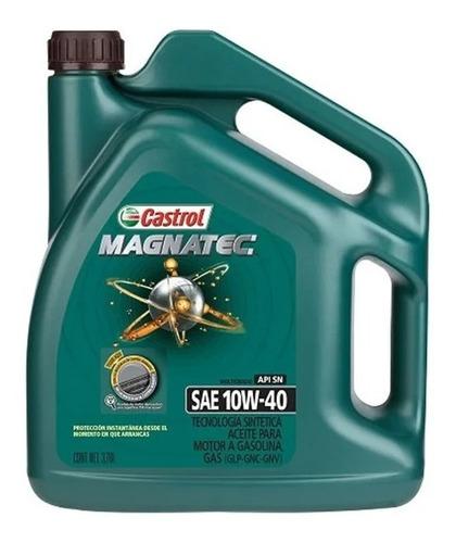 Imagen 1 de 3 de Aceite Castrol 10w40 Magnatec Motor Nafta 1 Galón - Tyt