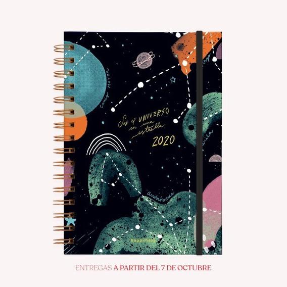 Agenda 2020 Happimess El Universo - A5 - Monoblock