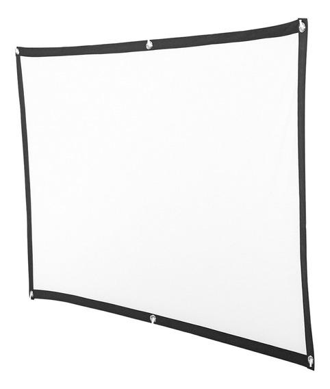 Projetor Soft Screen Film Home Cinema Projeção De Tela De Fi