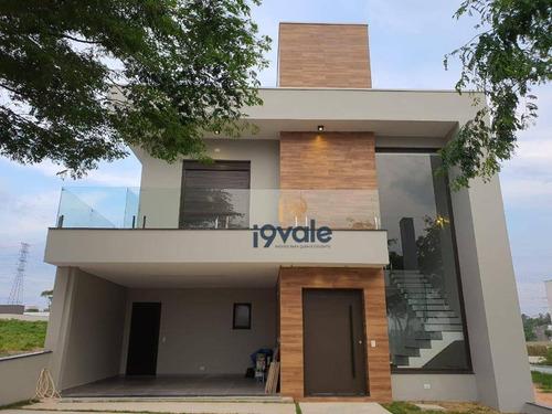 Linda Casa  Alto Padrão À Venda 220m2 Condomínio Vivva Jacareí -sp - Ca1786