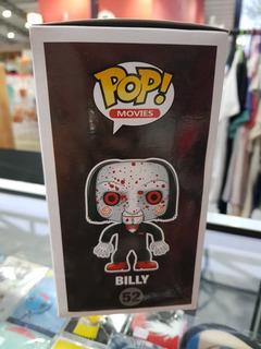 Funko Pop Saw Brilla En La Oscuridad Billy Muñeco De Vinil