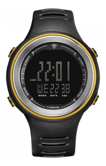 Relógio Unissex Tuguir Digital Tg001 Preto