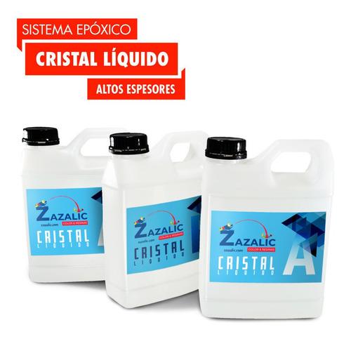 Imagen 1 de 5 de Resina Epoxica, Porcelanato Liquido, Para Alto Espesor 1kg