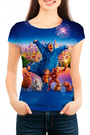 Camiseta Babylook Feminina O Parque Dos Sonhos - Mn01