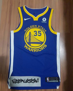 Camisa Golden State Warriors #35 Kevin Durant Nike Authentic