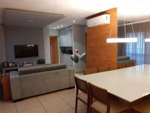 À Venda Por R$ 668.000 Apartamento Com 2 Dormitórios , 91 M² - Jardim Botânico - Ribeirão Preto/sp - Ap3770