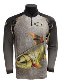 Camiseta Camisa De Pesca Com Proteção Uv50+ Escolha A Sua