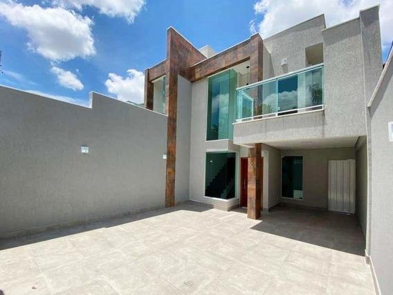 Casa Com 3 Quartos Para Comprar No Planalto Em Belo Horizonte/mg - 2185