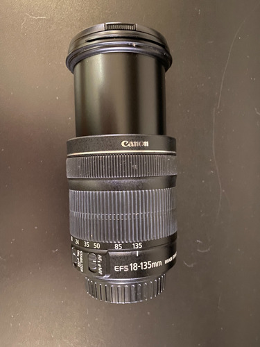 Lente Canon Efs 18-135mm Image Stabilizer Macro 0.39m/1.3ft