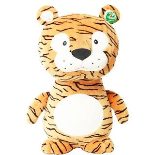 Peluche De Tigre Felino Felpa Ultra Suave Almohada 60 Cm