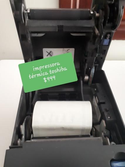Impressora Toshiba Não Fiscal