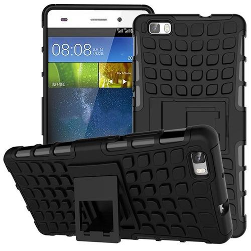 Estuche Forro Huawei P8 Lite Armadura Fuerte Antigolpes