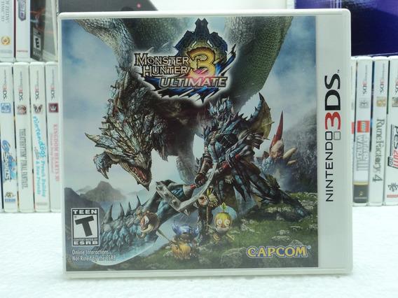 Monster Hunter 3 Ultimate - Nintendo 3ds - 12x Sem Juros!!!