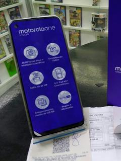 Motorola One Vision , Pronta Entrega, Frete Grátis 12x Sem J