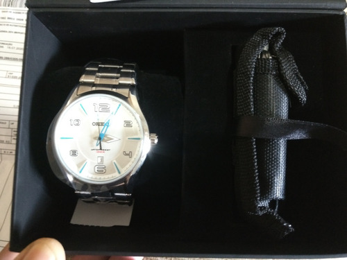 Relógio Orient 100m Kit Com Canivete Novo