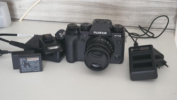 Fuji Xt2 Com Lente 35 F2
