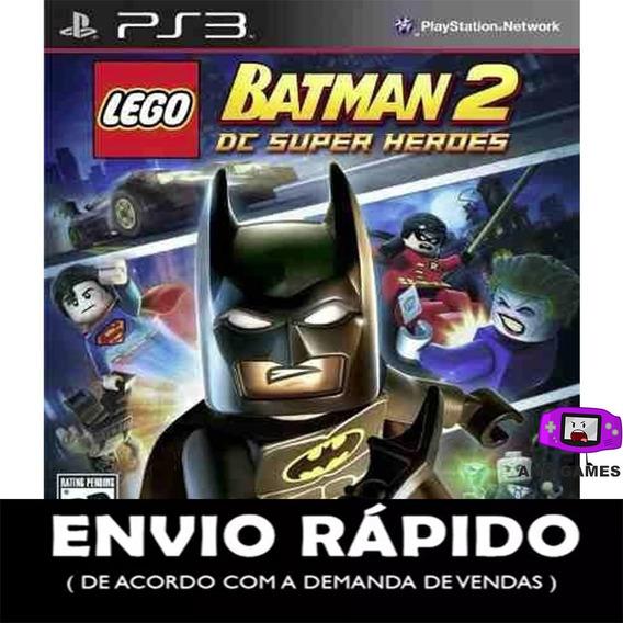 Lego Batman 2: Dc Super Ps3 - Jogo Digital