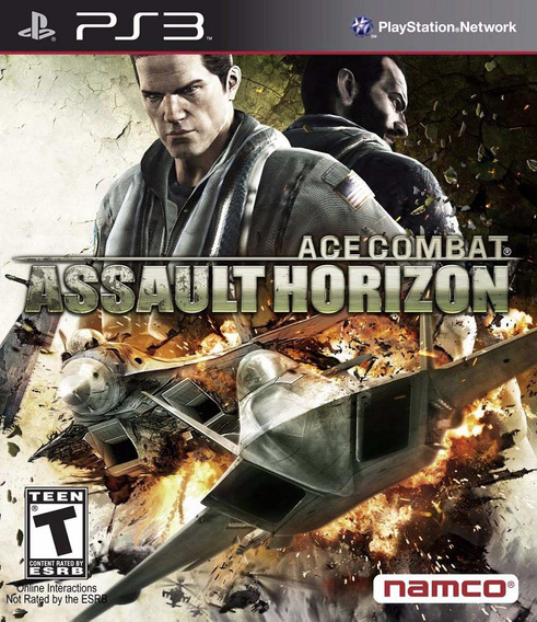 Ace Combat Ps3 Assault Horizon Cod Psn Envio Imediato