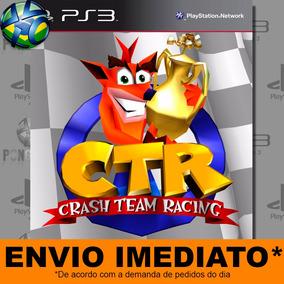 Ctr Crash Team Racing Ps3 Envio Imediato Midia Digital
