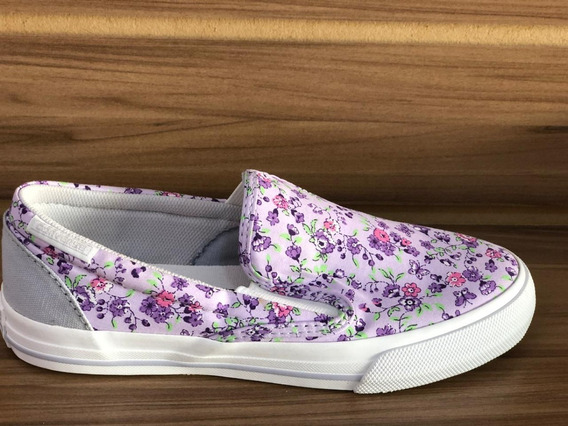 Tênis Alll Star Original - Skidgrip Flowers Lilac