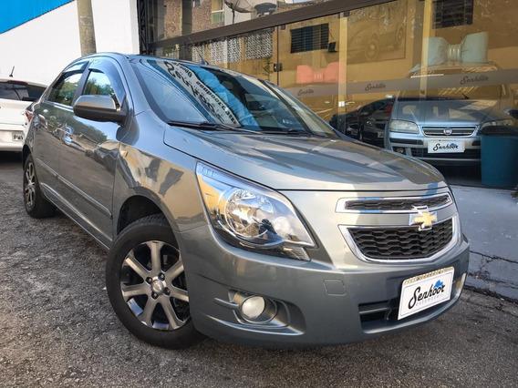 Chevrolet Cobalt 1.8 Ltz Manual Cinza - 2014