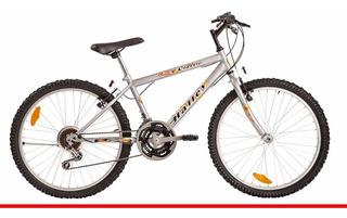 Bicicleta Halley 19131 Mountain Bike Rodado 24 Varon 18 Vel