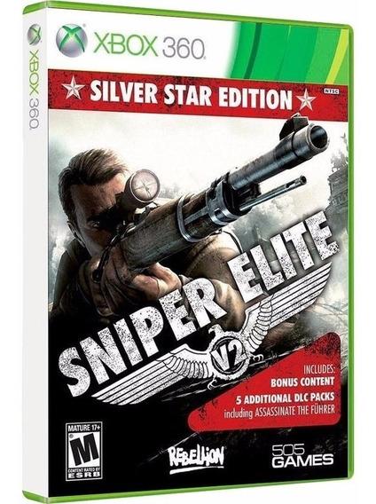 Sniper Elite V2 + 5 Dlc - Midia Fisica Original E Lacrado - Xbox 360